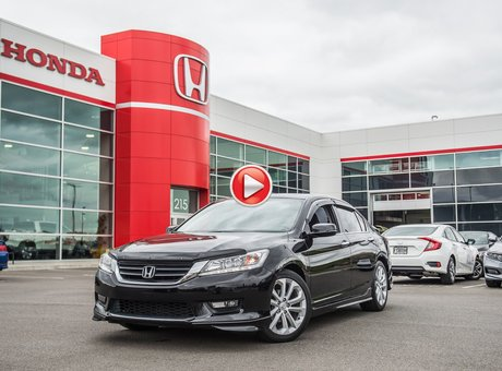 Honda ACCORD SDN L4 TOURING GARANTIE 10ANS/200,000 KILOMETRES* 2015
