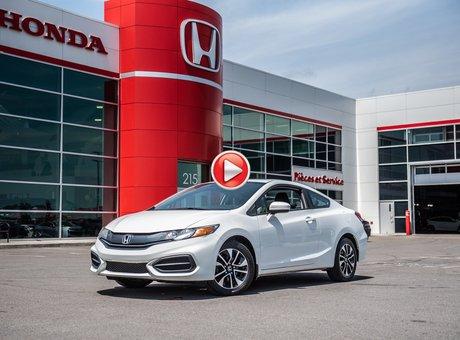 Honda CIVIC CPE EX GARANTIE 10ANS/200,000 KILOMETRES* 2015