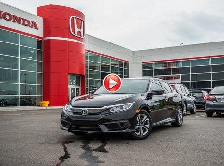 Honda Civic LX   HS GARANTIE COMPLÈTE 2016