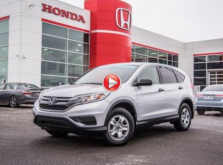Honda CR-V LX 2W LX/GARANTIE 10ANS 200,000 KILOMETRES* 2016