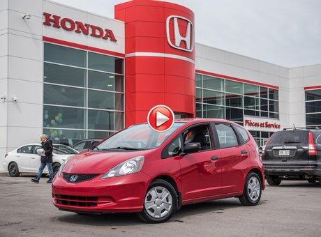 Honda FIT DX GARANTIE 10ANS/200,000 KILOMETRES* 2014