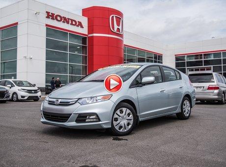 Honda INSIGHT HYBRID LX/GARANTIE 10ANS/200,000 KILOMETRES* 2012