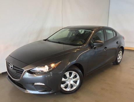 2015  Mazda3 GX A/C BLUETOOTH