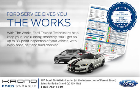 Ford Services Gives You the Works!