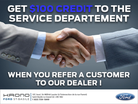 Ford St-Basile Customer Reference
