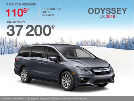 Louez la Honda Odyssey 2019!