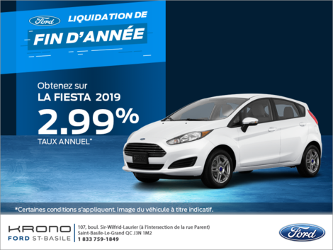 Ford Fiesta Sedan 2019