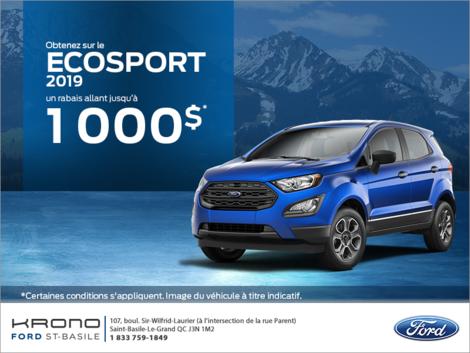 Ford EcoSport 2019 !