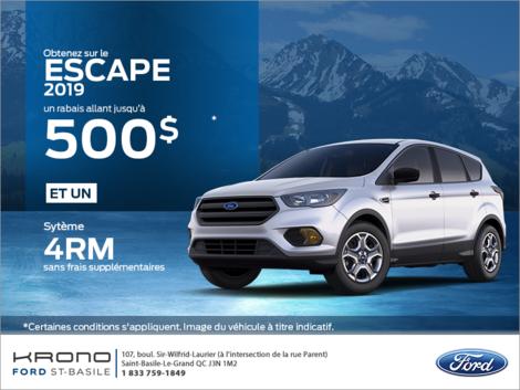 Ford Escape 2019 !