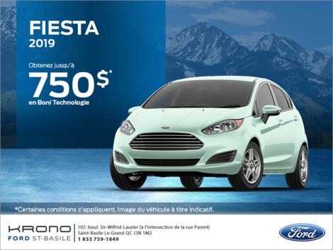 Ford Fiesta Berline 2019!