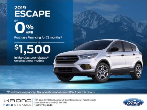 2019 Ford Escape!