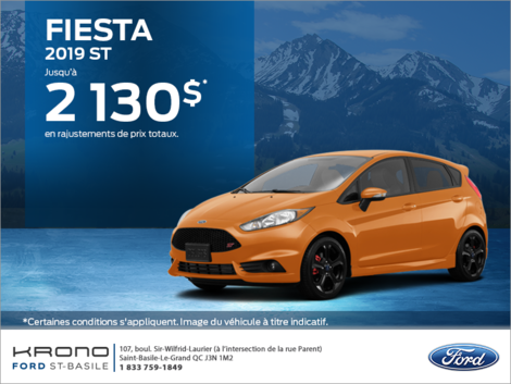 Ford Fiesta à hayon 2019!