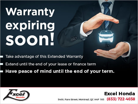 Extend your Warranty Now!