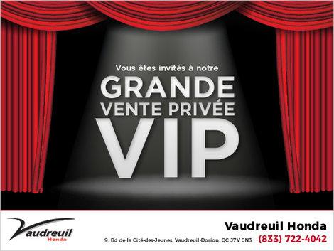 Grande vente privée VIP!