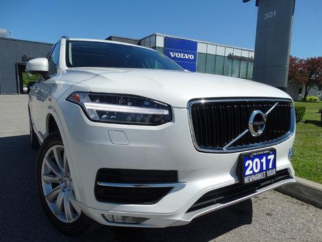 2017 Volvo XC90 T6 Momentum Plus   160KM Warranty