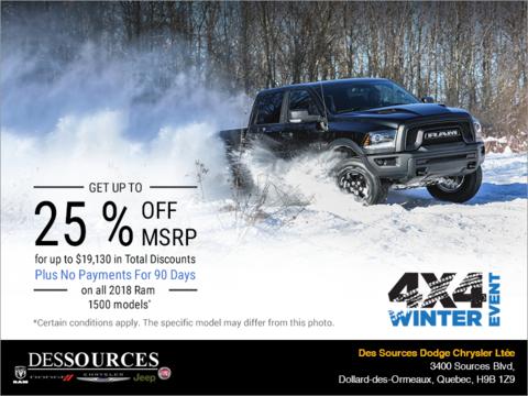 4X4 Winter Event!