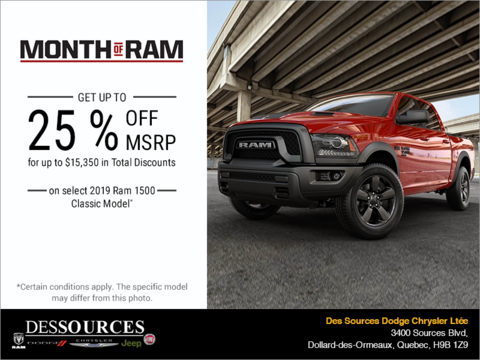 Event Month of RAM!