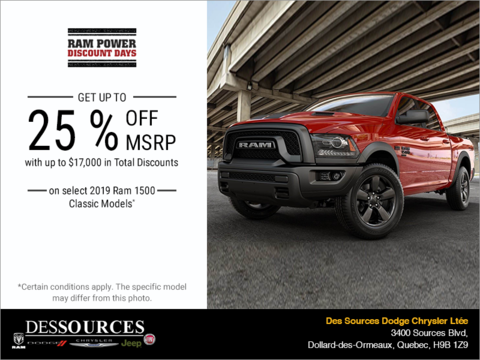 RAM Power Discount Days!