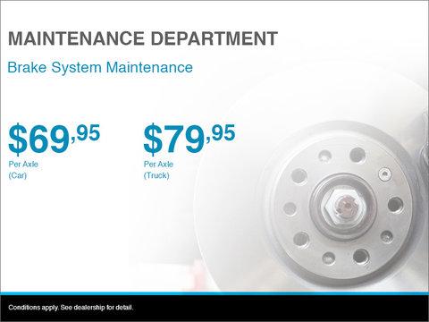 Brake System Maintenance