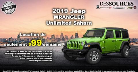 Promo Jeep Wrangler