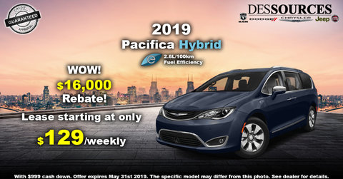Promo Chrysler Pacifica Hybrid
