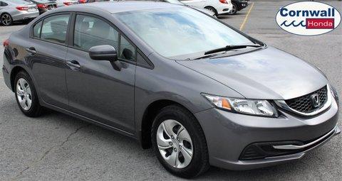 2015 Honda Civic Sedan LX  -  Cloth Seats, Automatic, Heated Seats