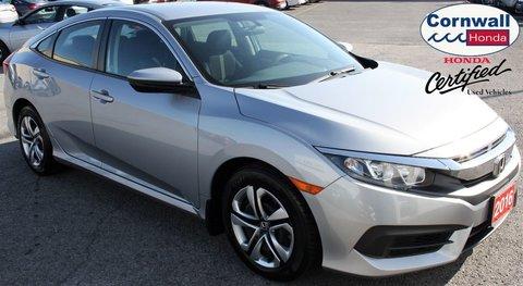 2016 Honda Civic Sedan LX  -  Clean, Heated Seats, One Owner