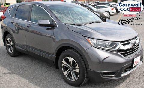2017 Honda CR-V LX  -  Cloth Heated Front Seats, Push-Button Start