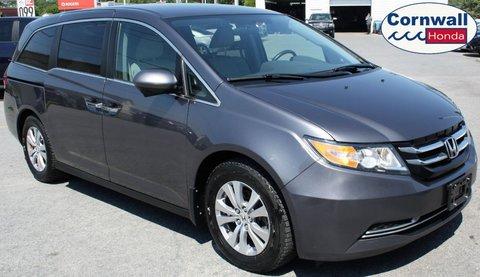 2016 Honda Odyssey EX  -  One Owner, Locally Serviced, Clean CarFax