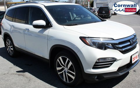 2016 Honda Pilot Touring  -  One Owner, Non-Smoker, Clean CarFax