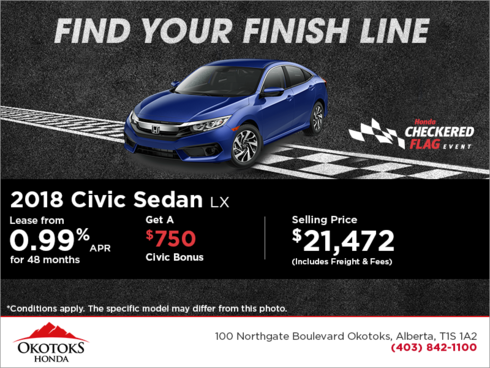 Get 2018 Honda Civic Sedan Today!