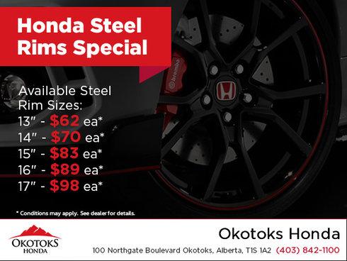 Honda Steel Rims Special