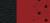 Cuir Alcantara Noir/Rouge ventilé (ULXC)