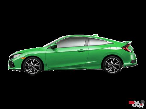 Kings county honda new 2017 honda civic coupe si for for 2017 honda civic green