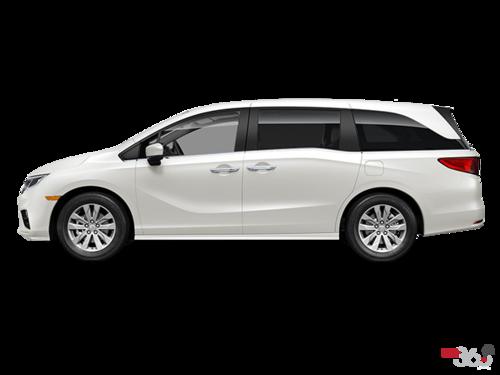 2018 honda minivan. beautiful minivan white diamond pearl  in 2018 honda minivan