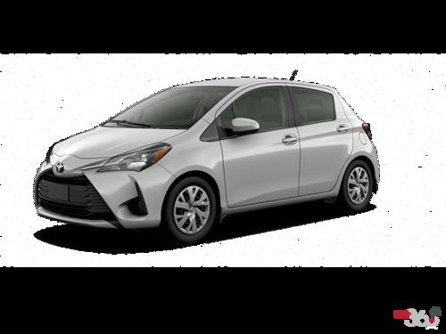 2018 toyota yaris hatchback.  toyota classic silver metallic to 2018 toyota yaris hatchback