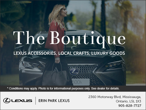 Discover the Lexus Lifestyle Collection