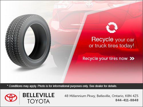 Recycle Your Tires