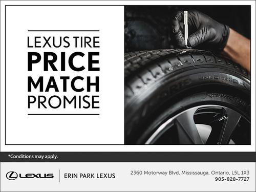 The Lexus Price Match Promise