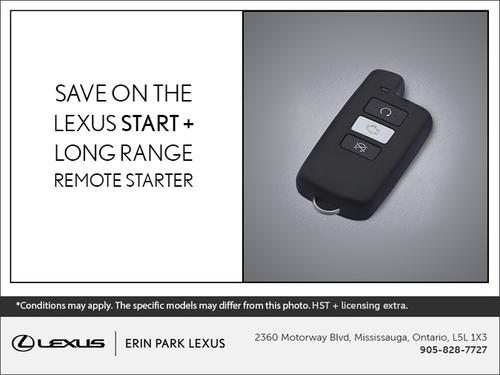 Lexus Remote Starter