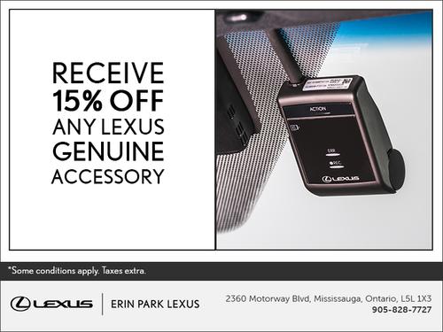 Lexus Genuine Accessory Promo