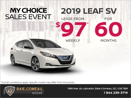 Get the 2019 Leaf today!