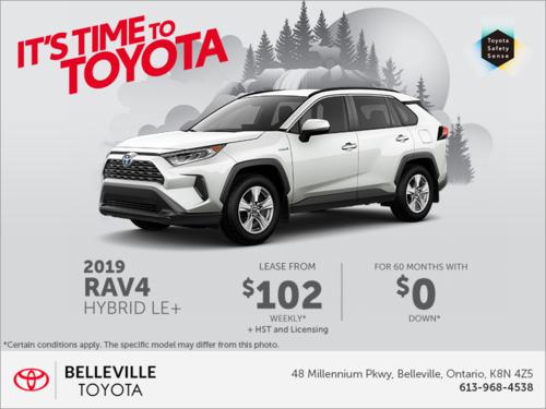 2019 Toyota RAV4 Hybrid