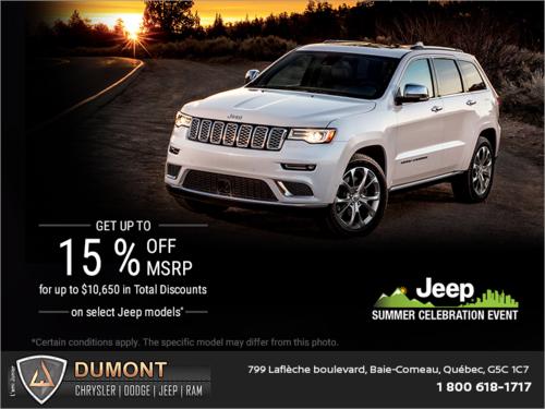 It's Jeep Summer Celebration Event!