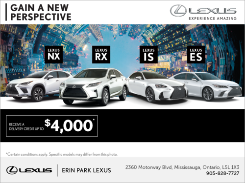 Gain a new perspective - Find new places with a Lexus!