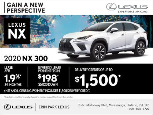Lexus Lease Offers >> Special Offers Erin Park Lexus