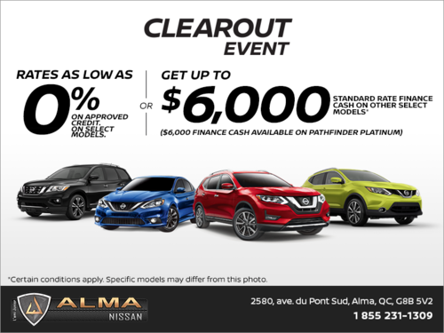 Nissan's Clearout Event