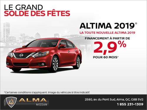 La Nissan Altima 2019