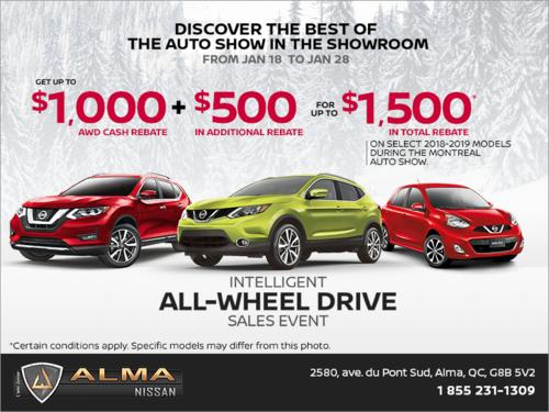 Intelligent All-Wheel Drive Sales Event