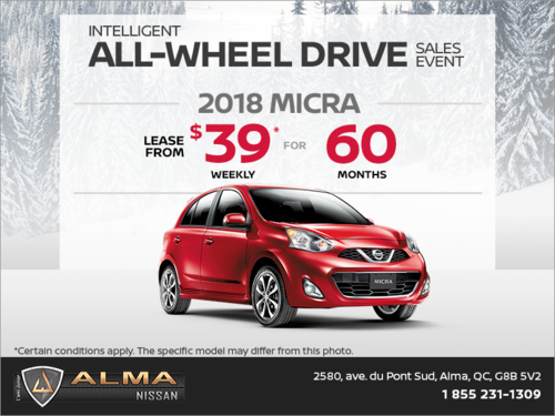 Get the 2018 Micra today!